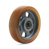 Visa större bild på ombelagt bomberat hjul
